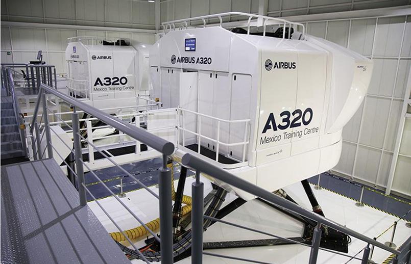 Airbus Training Center en México.