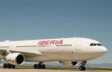 Airbus A330-200 de Iberia.