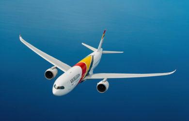 Primer Airbus A330neo de Air Belgium.