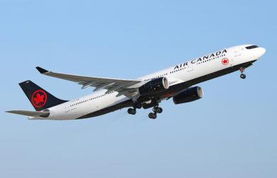 Airbus A330-300 de Air Canada.
