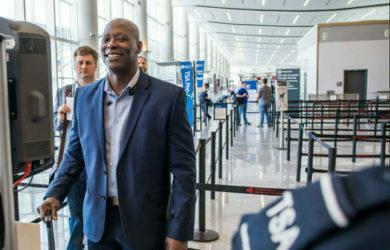 Filtro de seguridad de Delta y la TSA.